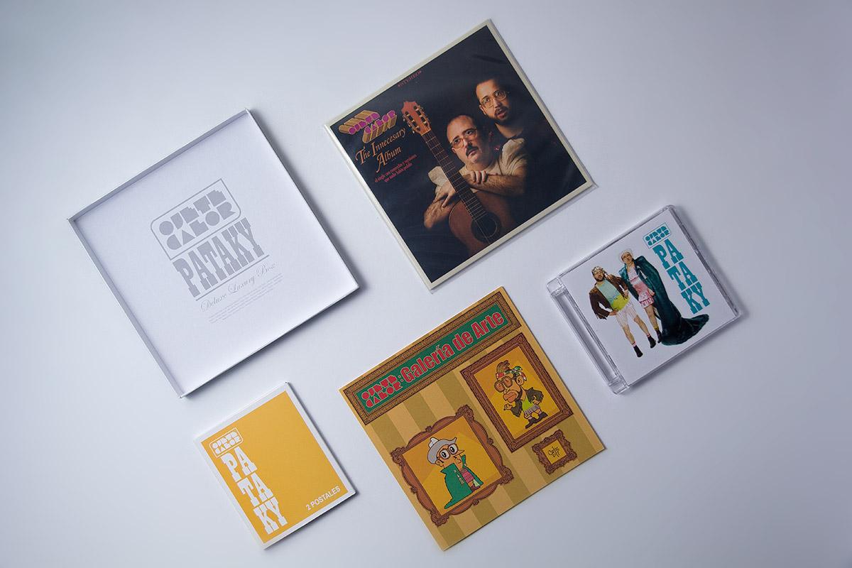 Contenido Deluxe Luxury Box Pataky de Ojete Calor