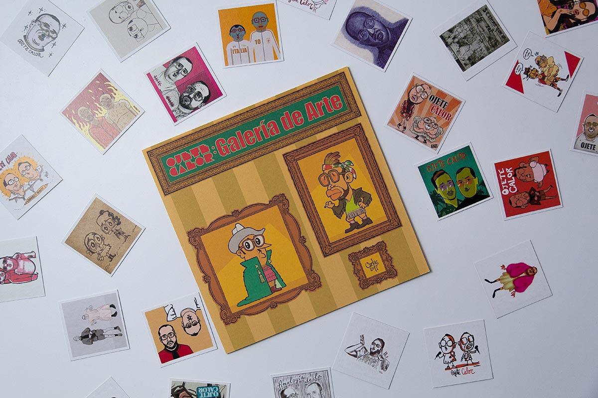 Cromos del album Pataky de Ojete Calor